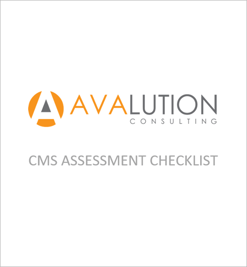 CMS ASSESSMENT CHECKLIST