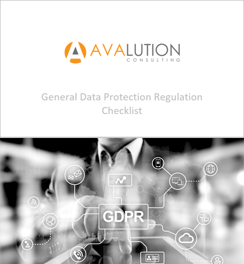 General Data Protection Regulation Checklist
